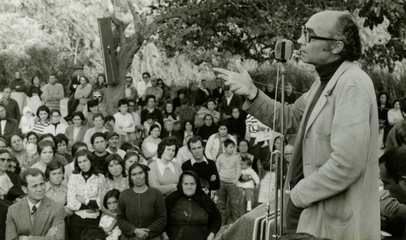 José Saramago in the 70s ©FJS Archive/Reserved Rights