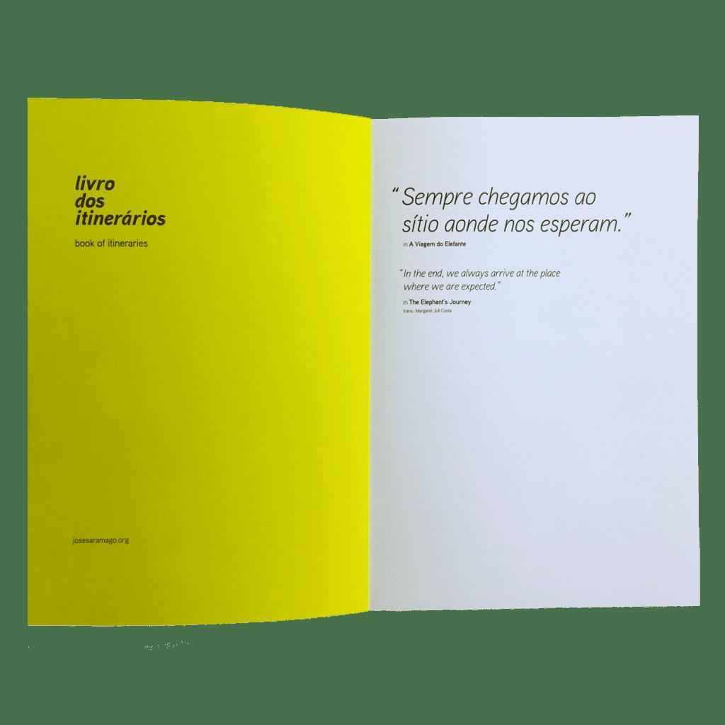 Os cadernos das epígrafes - livro dos itinerários