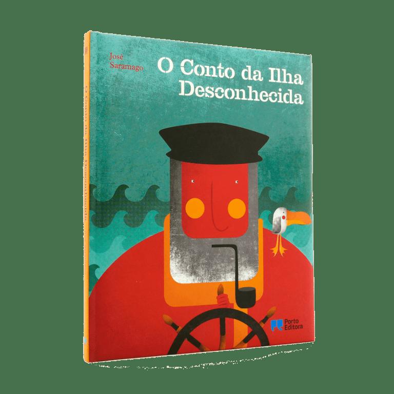 El cuento de la isla desconocida - Ilustraciones de Fatinha Ramos